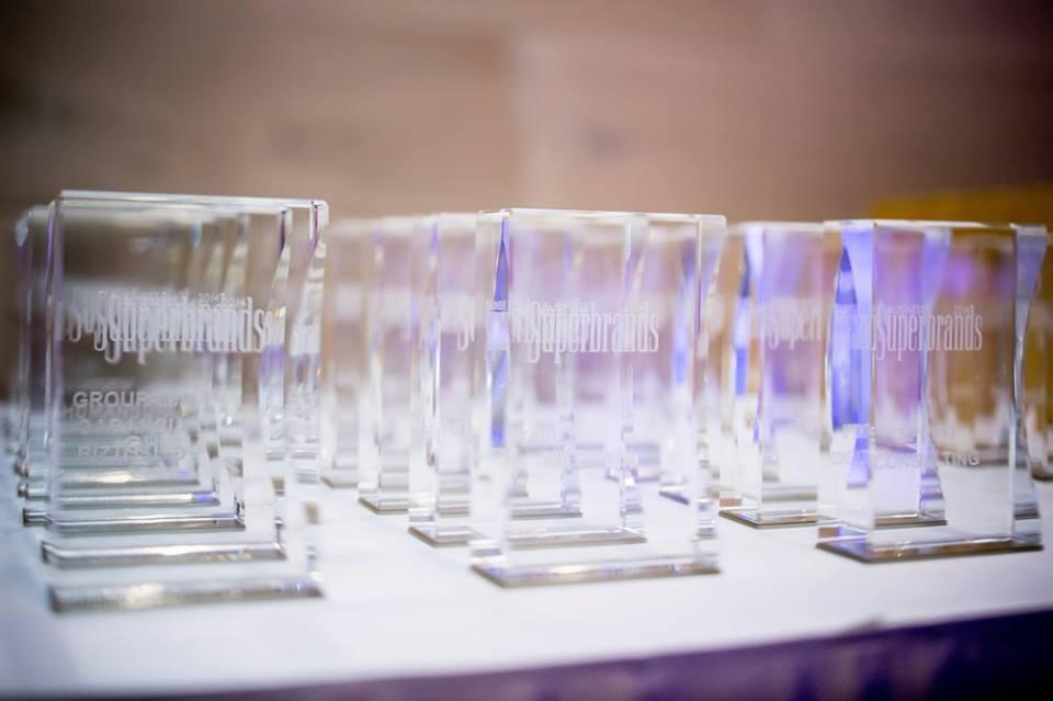What is the Superbrands Award and why do brands receive it?